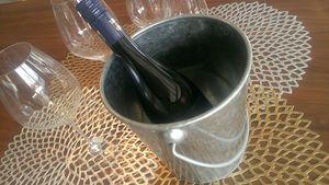 お洒落なワインクーラーに早変わり。