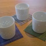 白山陶器 レリーフホタル