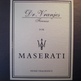 Dr. Vranjes for MASERATI