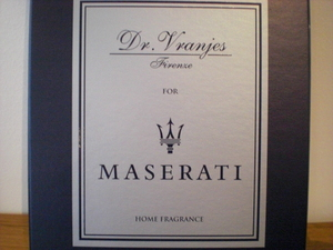 Dr. Vranjes for MASERATI