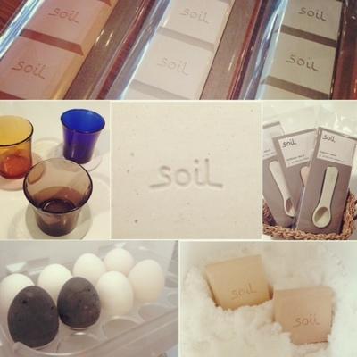 soil BATH MAT light