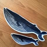 KATAKATA  印判手クジラ皿