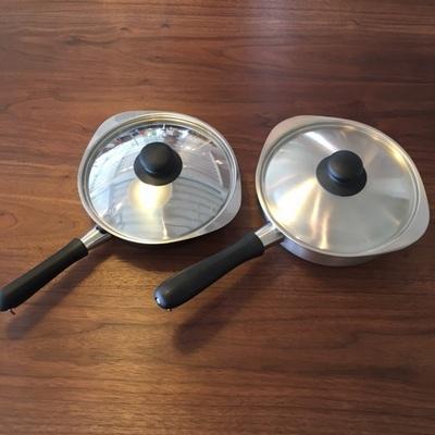 柳宗理デザイン 片手鍋・鉄フライパン(ファイバーライン加工)