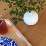 白山陶器 球型ミニ花瓶
