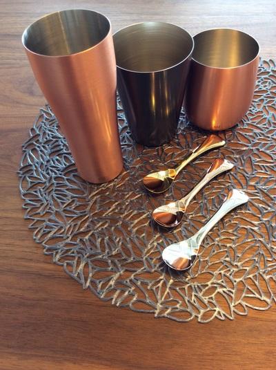 銅製タンブラー(CO) ミニタンブラー(BZ)  ロックカップ(CO)