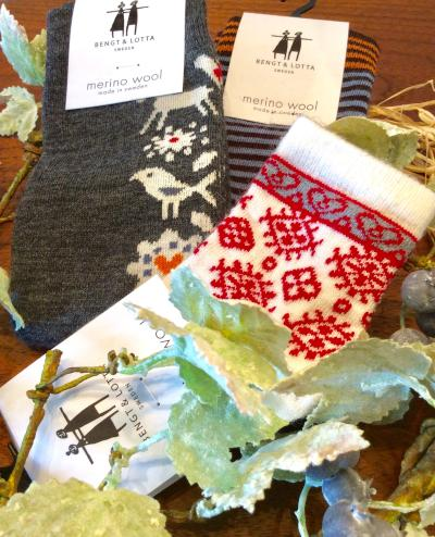 Bengt&Lotta wool socks