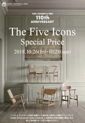 THE FIVE ICONS special price