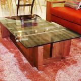 CARAMELLA LIVING TABLE 1206(glass)